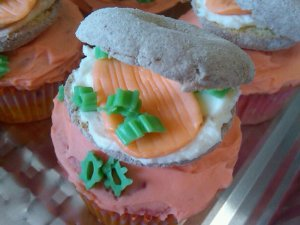 Bagels and Lox Cupcakes